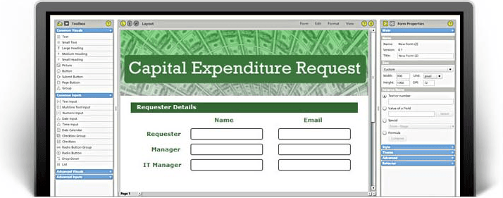 Capital Expenditure Form, Expense Sheet Template - PerfectForms CapEx