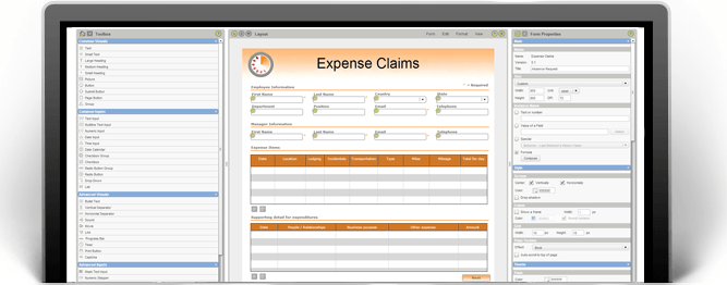 Expense Form Template Expense Claim Form PerfectForms – Expense Claim Template