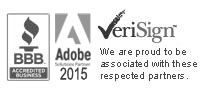 Technology Partners: BBB, Adobe 2010, VeriSign